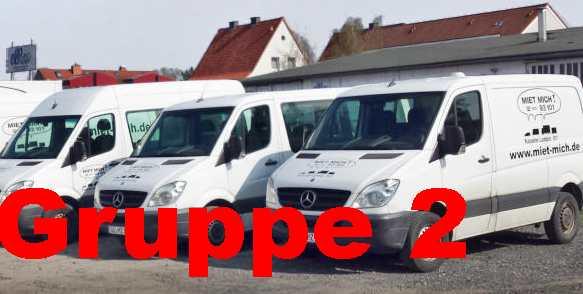 Sprinter kurz/flach oder lang/hoch - auch als 9-Sitzer
