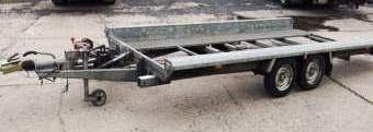 Tandem-Anhänger Autotransport